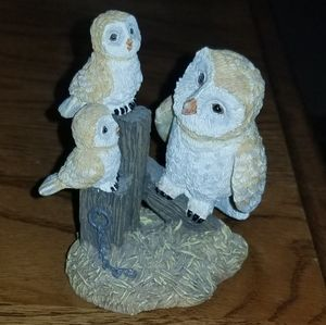 "Lil' Whoots ""A Song for Mother"" Owl Figurine"